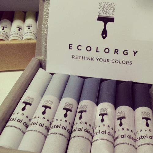 Pasteles al óleo de Ecolorgy