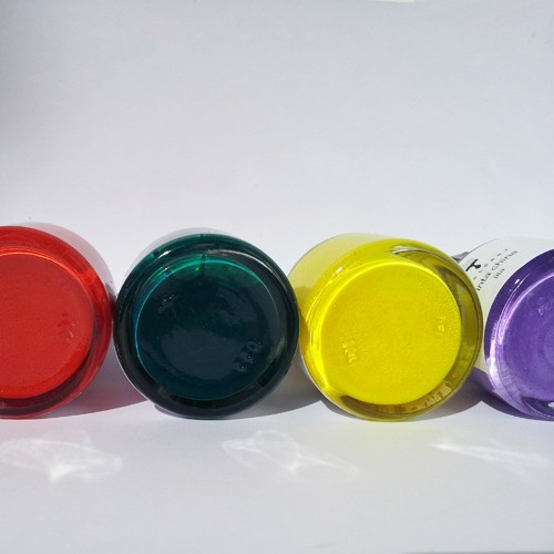 Tinta china artesanal con pigmentos naturales