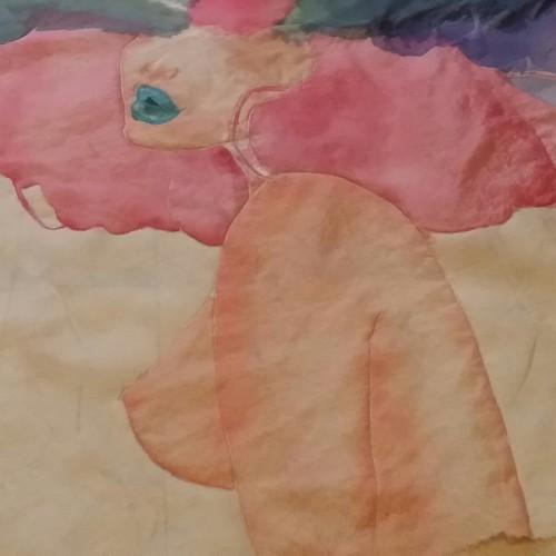 Pinturas para Tela de Ecolorgy sobre seda